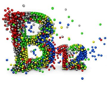 3d word Vitamin b12 in multicolor on the white background