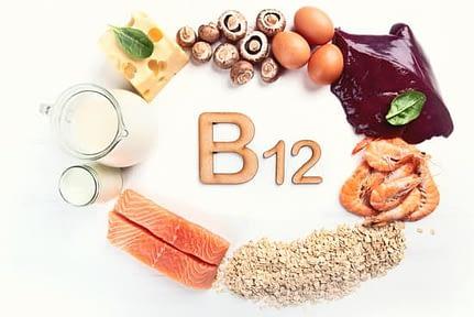 Foods Highest in Vitamin B12. Milk, cheese, mushrooms, eggs, liver, shrimps, cereals, fish