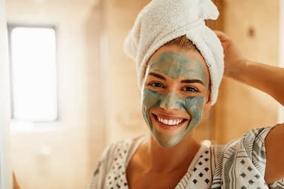 Using A Skin Mask
