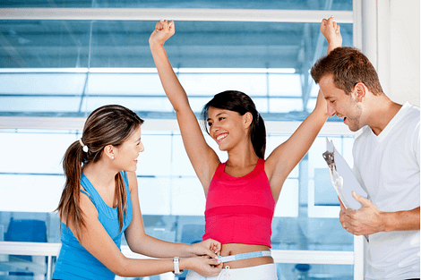 contrive and weight loss